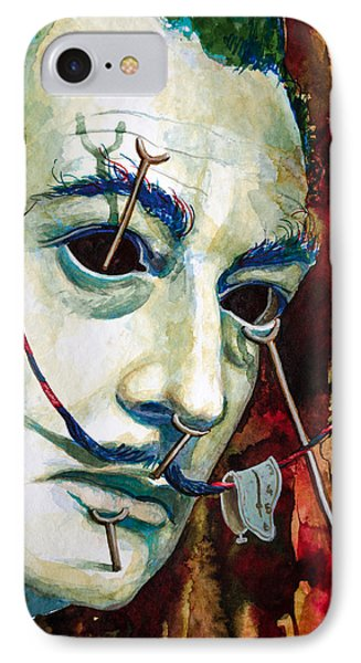 IPhone Case featuring the painting Dali 2 by Laur Iduc