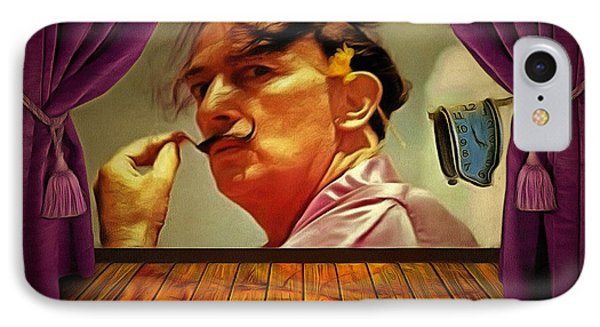 Dali IPhone Case by Anthony Caruso
