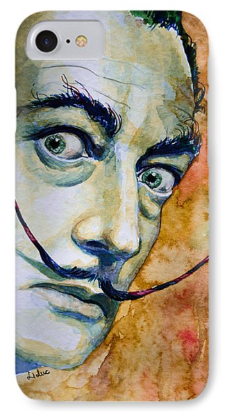 Dali IPhone Case by Laur Iduc