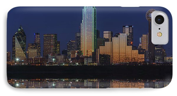 Dallas Aglow IPhone Case by Rick Berk