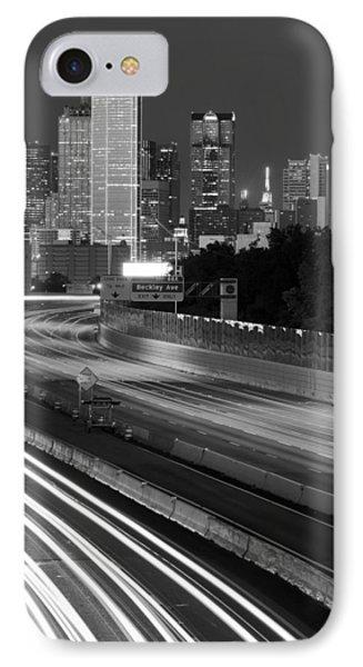 Dallas Arrival Bw IPhone Case