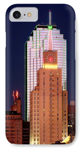 IPhone Case featuring the photograph Dallas At Dawn by David Perry Lawrence