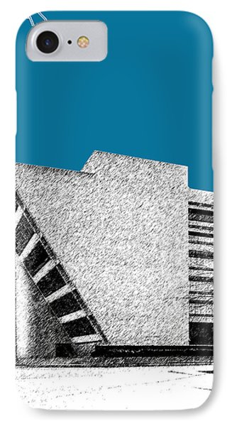Dallas Skyline City Hall - Steel IPhone 7 Case by DB Artist