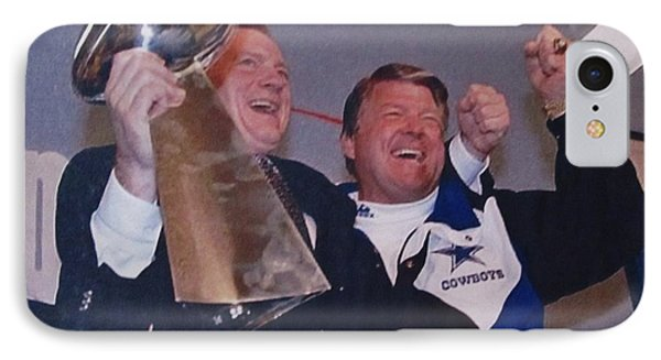 Dallas Cowboys 1992 National Football League Champions IPhone Case by Donna Wilson