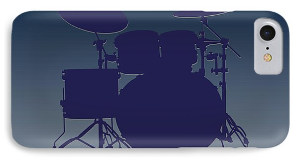 Dallas Cowboys Drum Set IPhone Case by Joe Hamilton