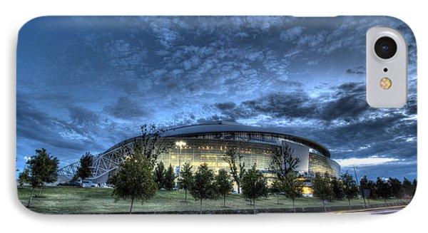 Dallas Cowboys Stadium IPhone Case by Jonathan Davison