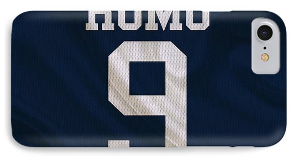 Dallas Cowboys Tony Romo IPhone Case by Joe Hamilton