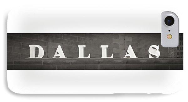 Dallas Phone Case by Darryl Dalton