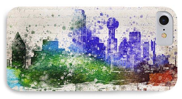 Dallas In Color IPhone Case