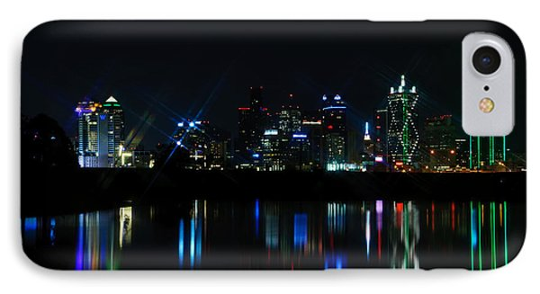 Dallas Reflections Phone Case by Charles Dobbs