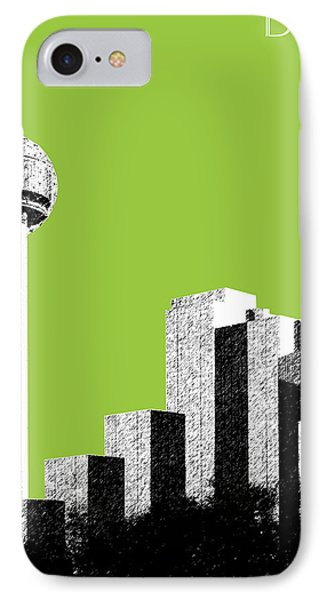 Dallas Reunion Tower IPhone Case by DB Artist