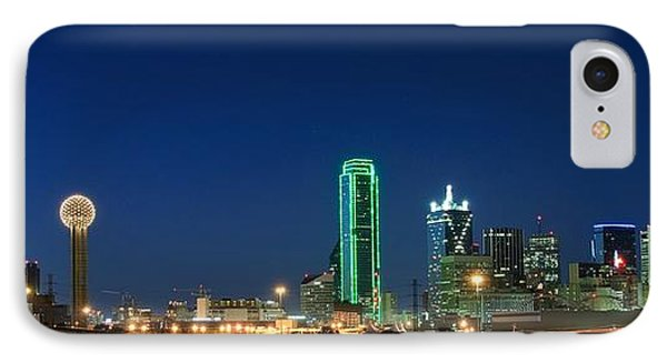 Dallas Skyline Phone Case by Charles Dobbs