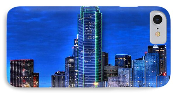 Dallas Skyline Hd IPhone Case by Jonathan Davison