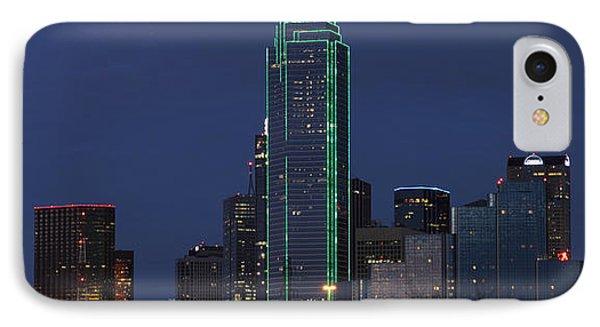 Dallas Skyline IPhone Case by Jonathan Davison