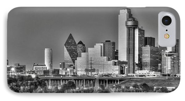 Dallas The New Gotham City  IPhone 7 Case by Jonathan Davison