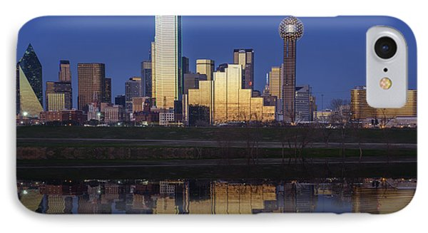 Dallas Twilight IPhone Case by Rick Berk