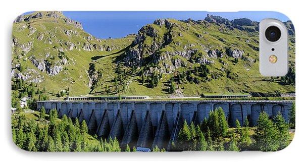 Dam And Lake Fedaia IPhone Case