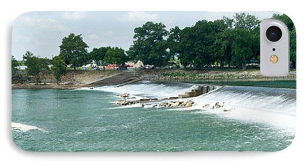 Dam At Batesville Arkansas Phone Case by Douglas Barnett