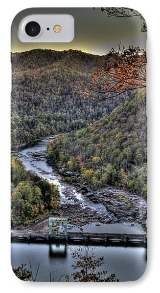 IPhone Case featuring the photograph Dam In The Forest by Jonny D