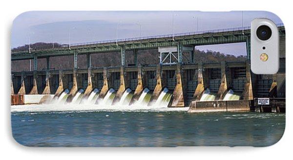 Dam On A River, Chickamauga Dam IPhone Case