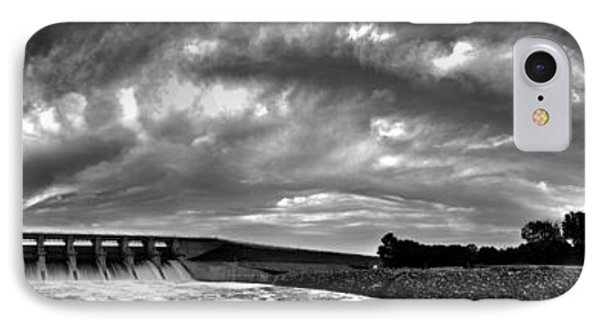 IPhone Case featuring the photograph Dam Panoramic by Brian Duram