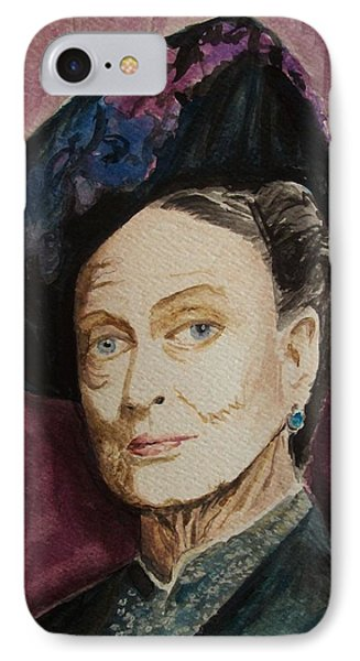 Dame Maggie Smith Phone Case by Amber Stanford