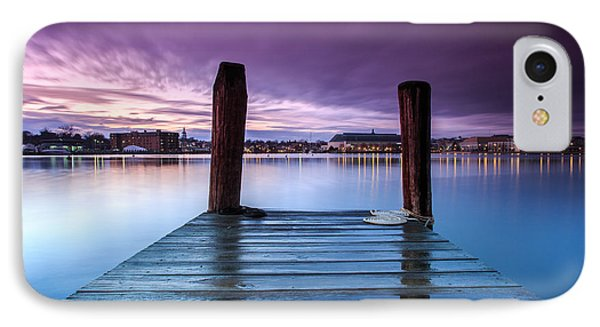 IPhone Case featuring the photograph Damp Sunset by Jennifer Casey