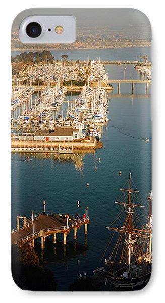Dana Harbor IPhone Case by James Kirkikis