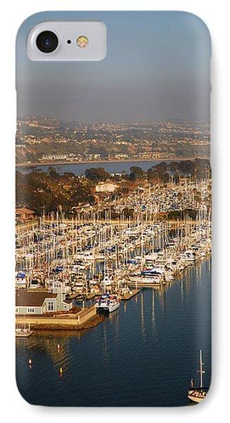 Dana Point Harbor IPhone Case by James Kirkikis