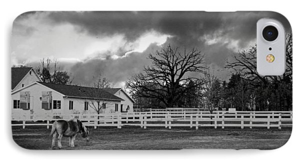 Danada Equestrian Center IPhone Case by Lawrence Golla