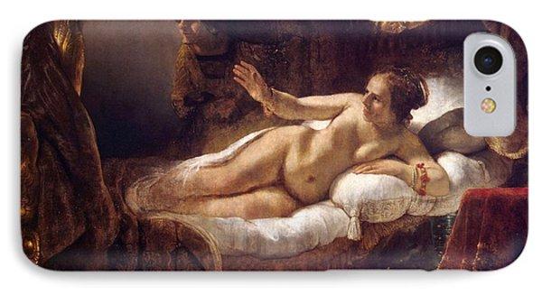 Danae IPhone Case by Rembrandt van Rijn