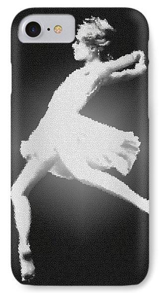 Dance - Glass Phone Case by Nicholas Evans