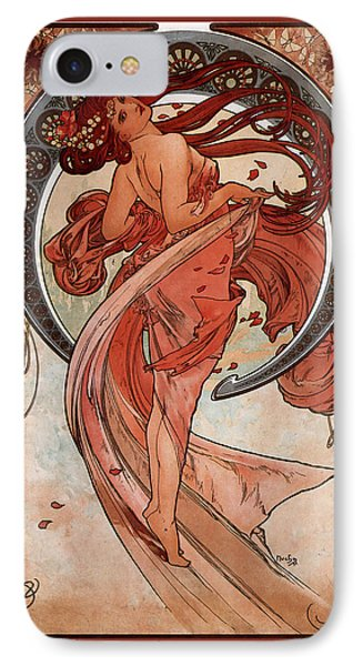 Dance IPhone Case by Alphonse Maria Mucha