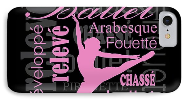 Dance And Ballet IPhone Case by Kike Calvo
