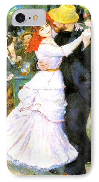 Dance At Bougival Phone Case by Pierre Auguste Renoir