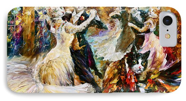 Dance Ball Of Cats  Phone Case by Leonid Afremov