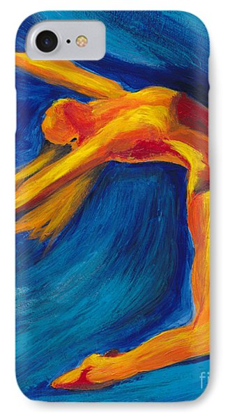 IPhone Case featuring the painting Dance by Denise Deiloh