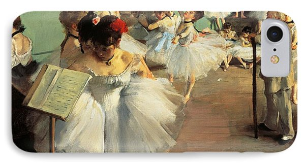 Dance Examination IPhone Case by Edgar Degas