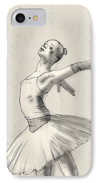 Dance IPhone Case by H James Hoff