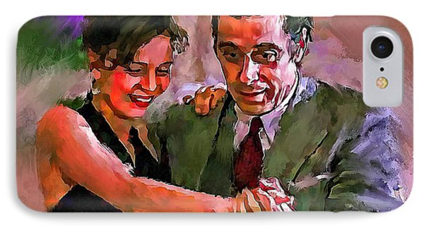 Dance Me To The End Of Love 2 IPhone Case by Yury Malkov