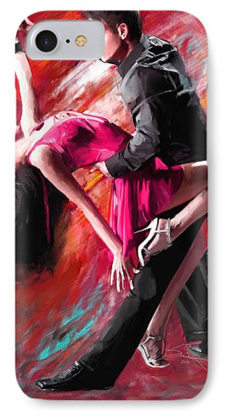 Dance Of Fire IPhone Case