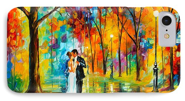 Dance Of Love IPhone Case by Leonid Afremov