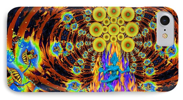 Dance Of Shiva Phone Case by Jason Saunders