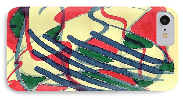 Dance Of Snakes 01 IPhone Case by Mirfarhad Moghimi