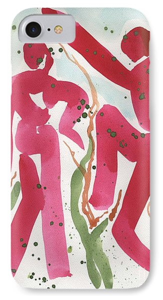 Dance Of Spring And The New Harvest Phone Case by Cathy Peterson