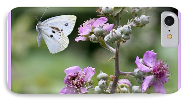 IPhone Case featuring the photograph Dance Of The Butterfly by Martina  Rathgens
