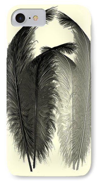 Dance Of The Feathers IPhone Case by David Dehner