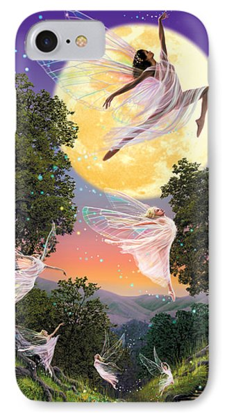 Dance Of The Moon Fairy IPhone Case