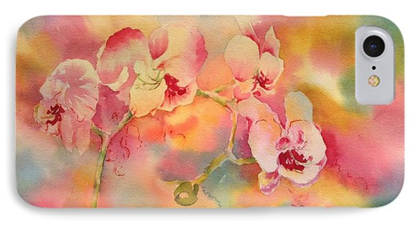 Dance Of The Orchids IPhone Case by Tara Moorman