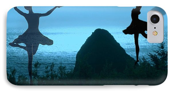 Dance Of The Sea Phone Case by Joyce Dickens